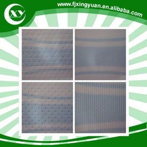 sanitary top sheet perforated film