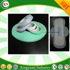 chip for sanitary napkin absorbency core