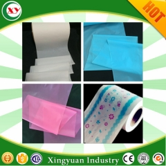 sanitary napkin under pads pe film