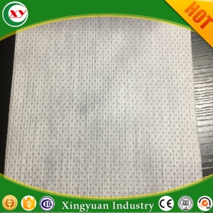 Small ear nonwoven for baby nappy